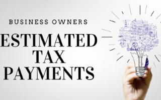 ESTIMATED TAX PAYMENT ASSISTANCE