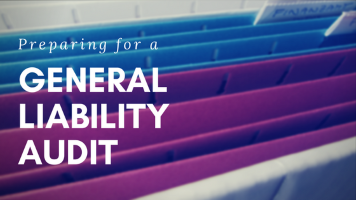 GENERAL LIABILITY AUDIT ASSISTANCE